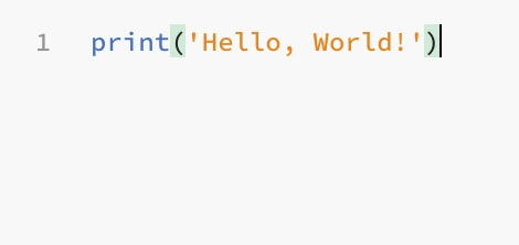 Hello World, Outputs and Variables